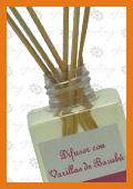 Difusor con Varillas de Bambú